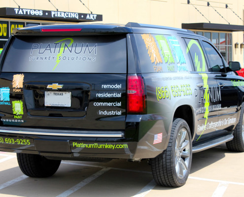 Chevy Suburban Car Wrap