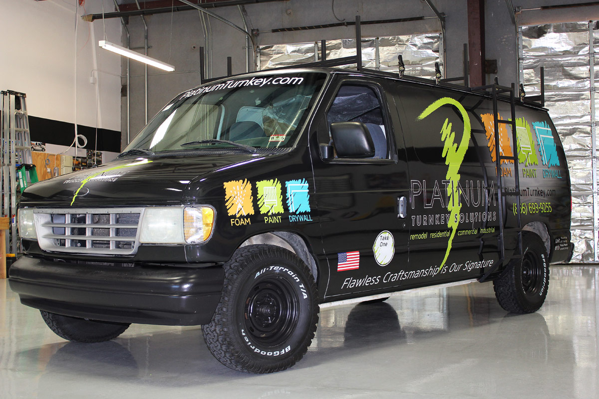 Construction Work Vehicle Wrap Zilla Wraps