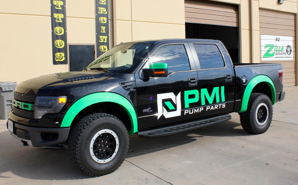 Cool Vinyl Truck Graphics Dallas Zilla Wraps