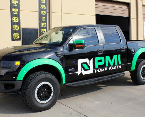 Dallas Cool Vinyl Truck Graphics