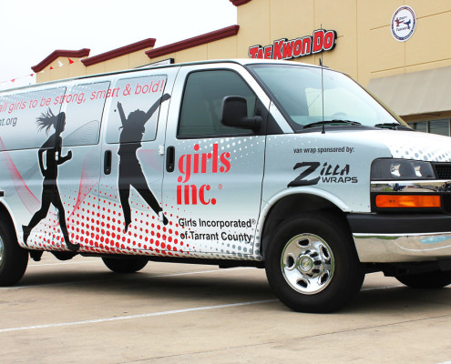 Dallas Vinyl Van Wraps
