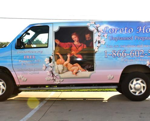 Ford Passenger Van Wrap