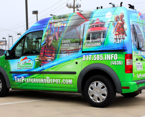 Fort Worth Ford Transit Wrap