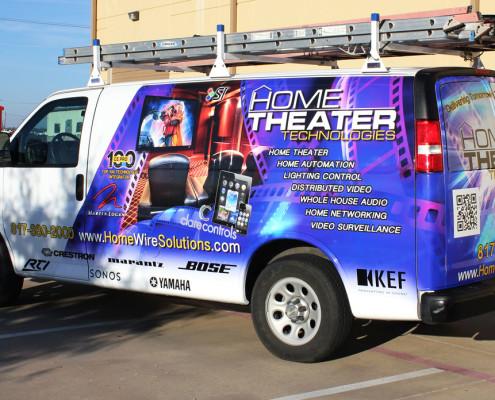 Fort Worth Partial Van Wraps