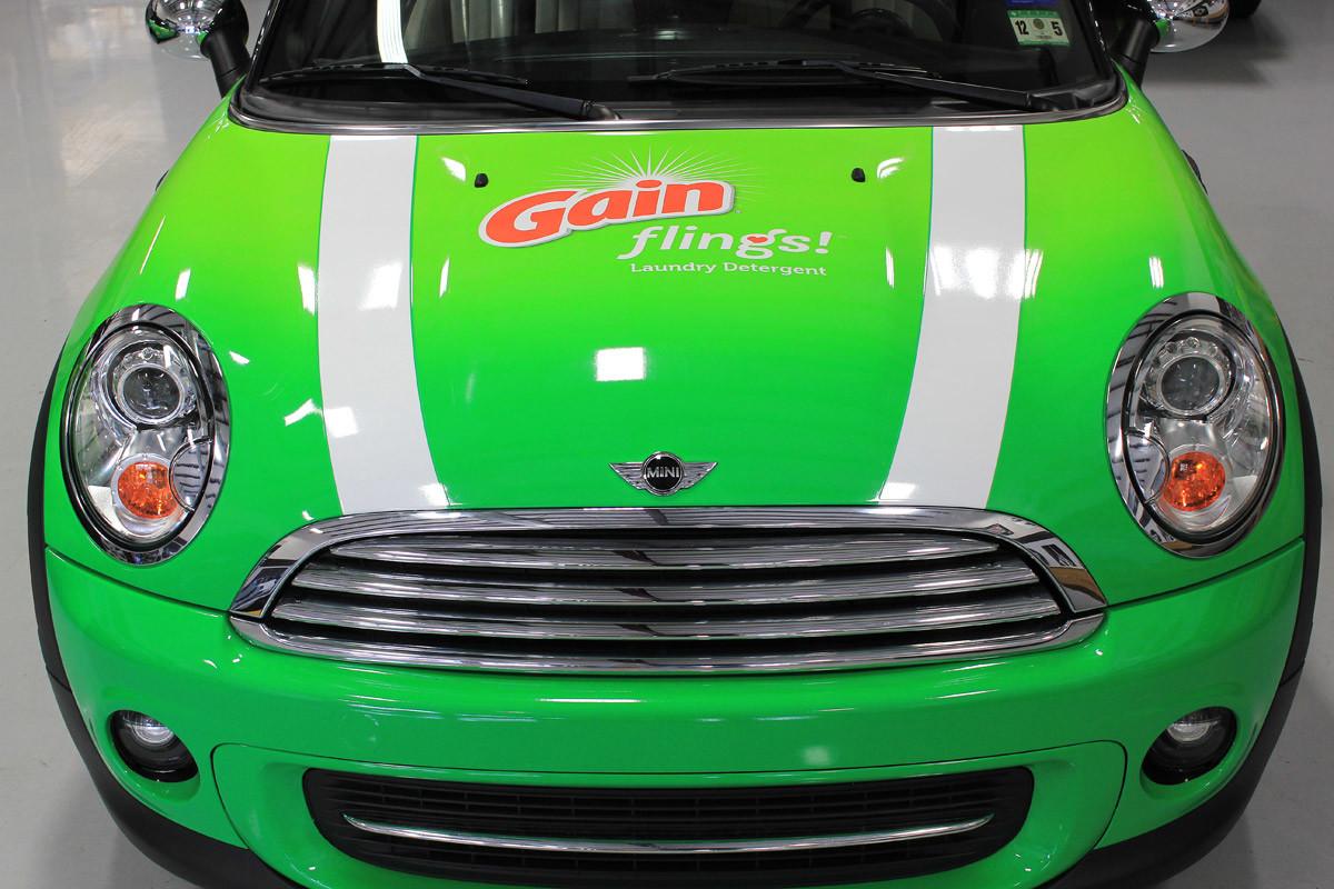 Gain Detergent Mini Coopers Zilla Wraps