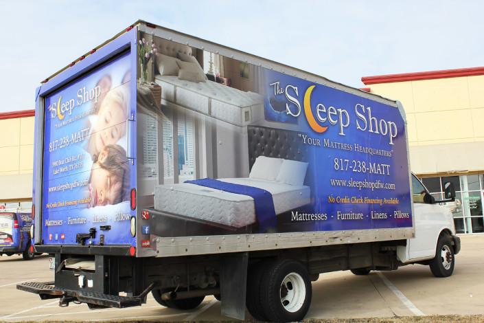 Lake Worth Box Truck Wrap