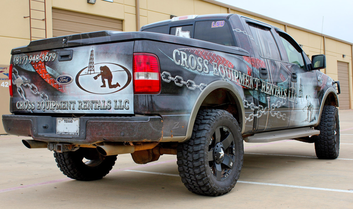 Oilfield Pickup Truck Wrap Zilla Wraps