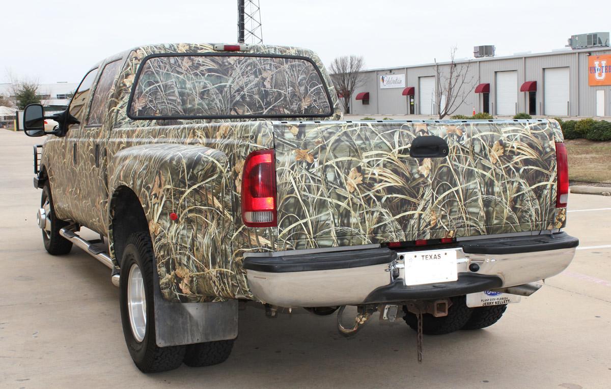 Realtree Camo Truck Wrap Zilla Wraps