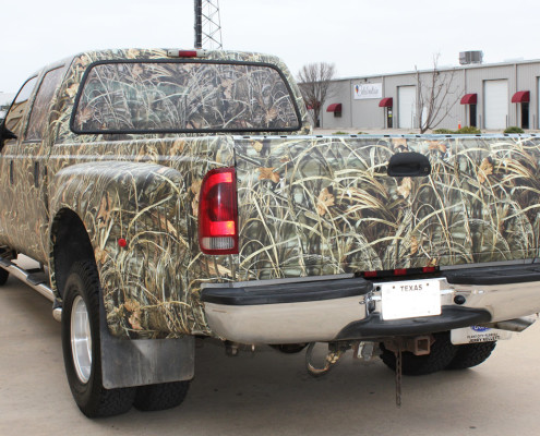 Realtree Camo Truck Wrap