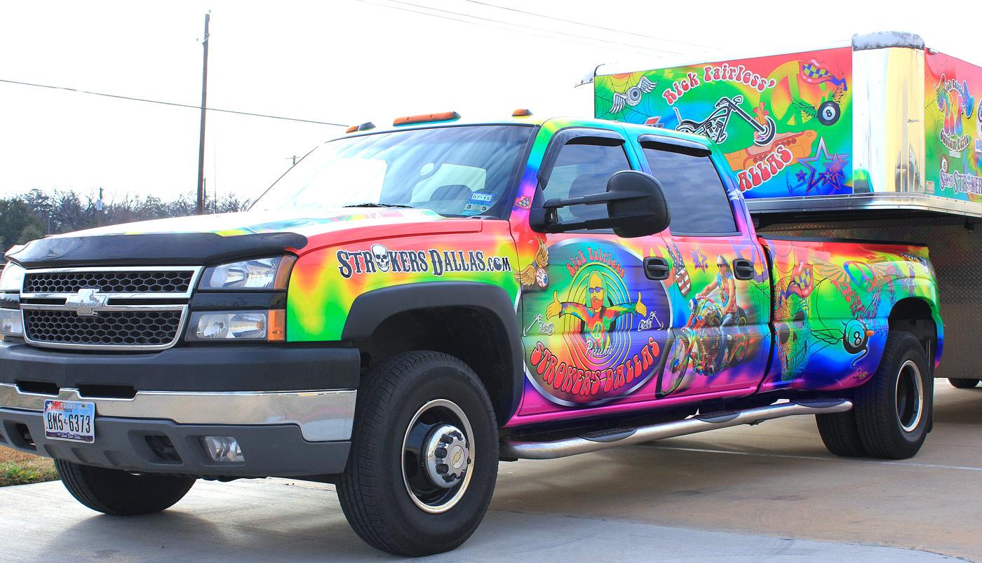 Rick Fairless Truck Wrap