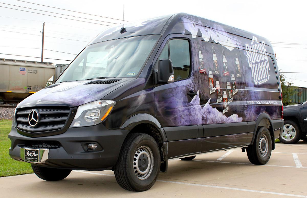 Vapor Sprinter Van Wrap Dallas Zilla Wraps