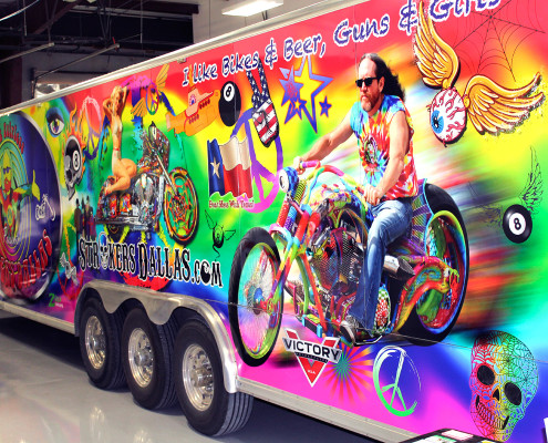 Strokers Rick Fairless Trailer Wrap