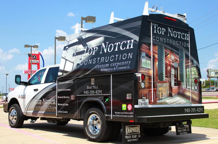Truck Wrap Top Notch