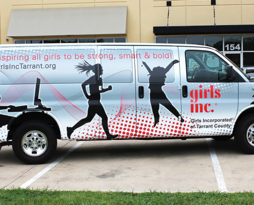 Van Vinyl Wraps Dallas TX