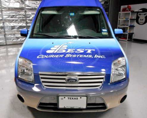 Vinyl Wrapped Ford Transit