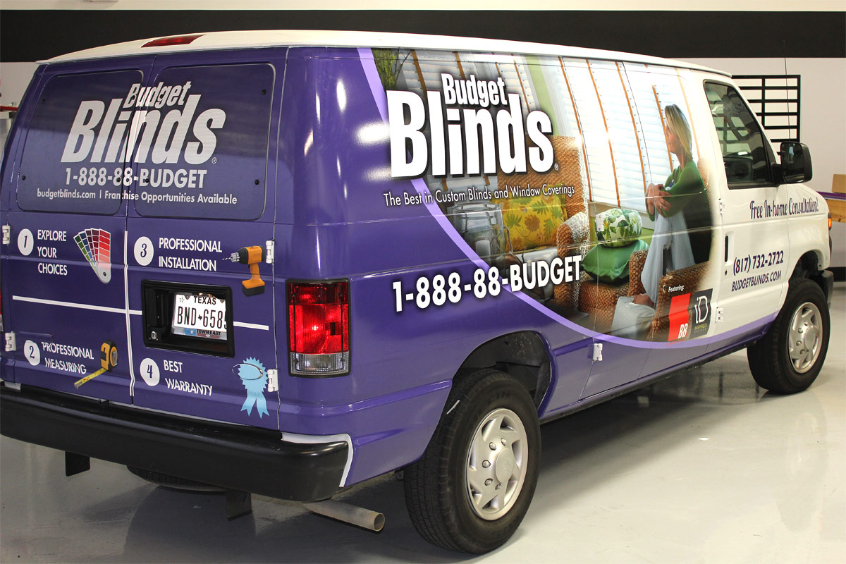 Ford Fort Worth >> Vinyl Wrapped Van Dallas - Zilla Wraps