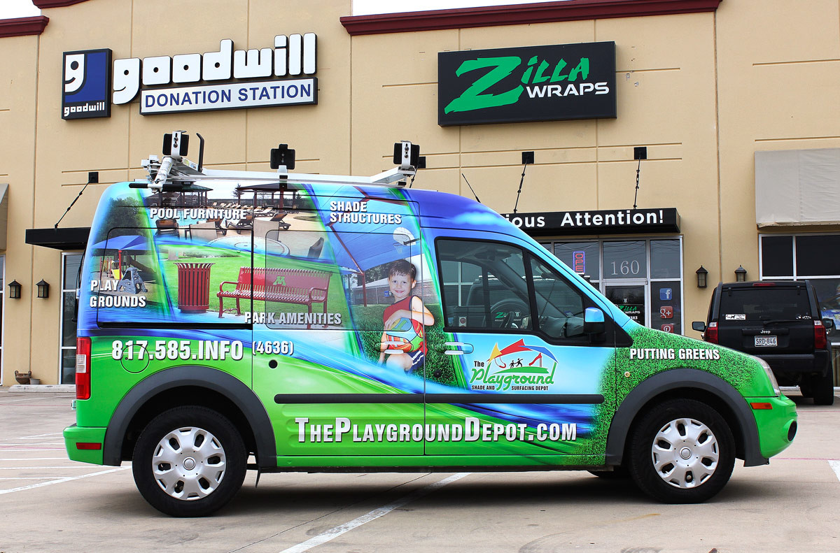 Ford Transit Vehicle Wrap Zilla Wraps