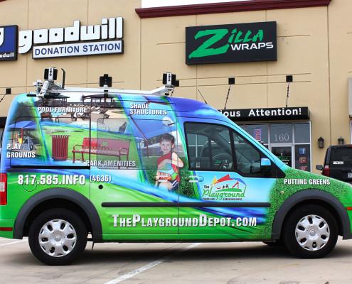 Zilla Wraps Ford Transit Wrap