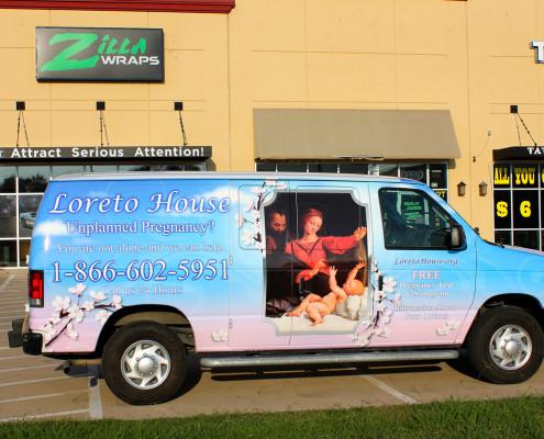 Zilla Wraps Ford Van Wrap