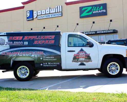 Appliance Repair Truck Wrap Zilla Wraps