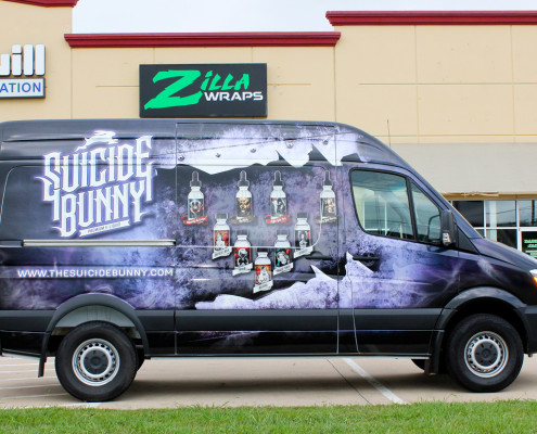 Zilla Wraps Sprinter Van Wrap Dallas