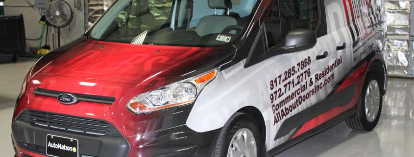 Transit Van Wrap All About Doors
