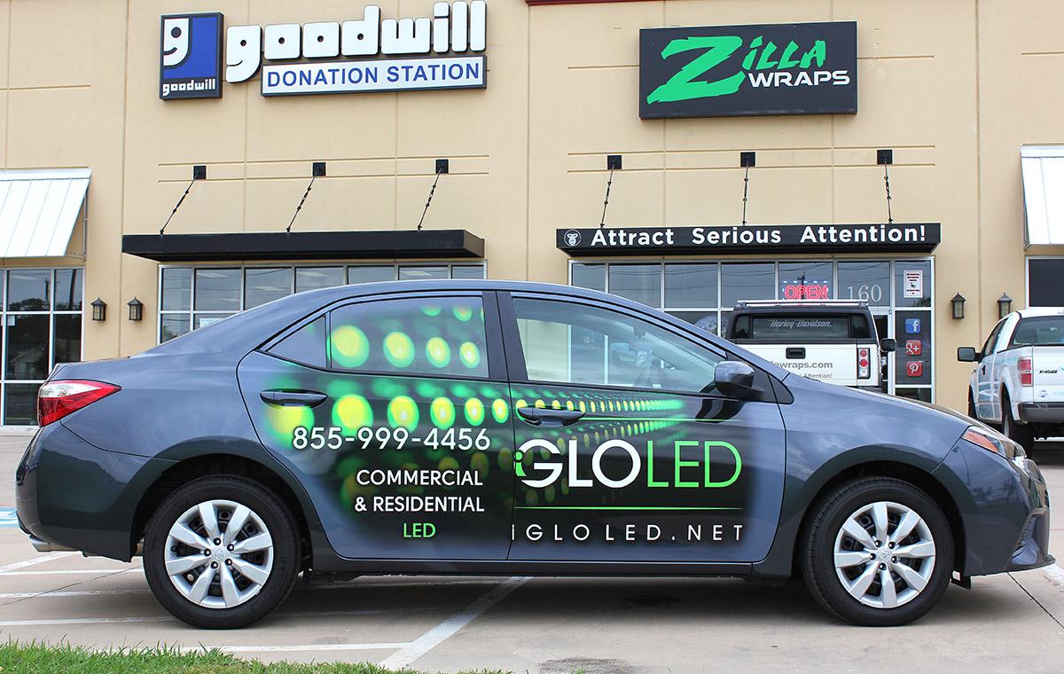 iGlo Car Wraps Zilla Wraps