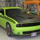 Matte Black Wrap Dodge Challenger