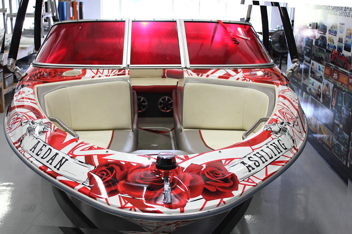 Vinyl Boat Wrap Bayliner