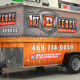 1st D Fence Trailer Wrap Dallas