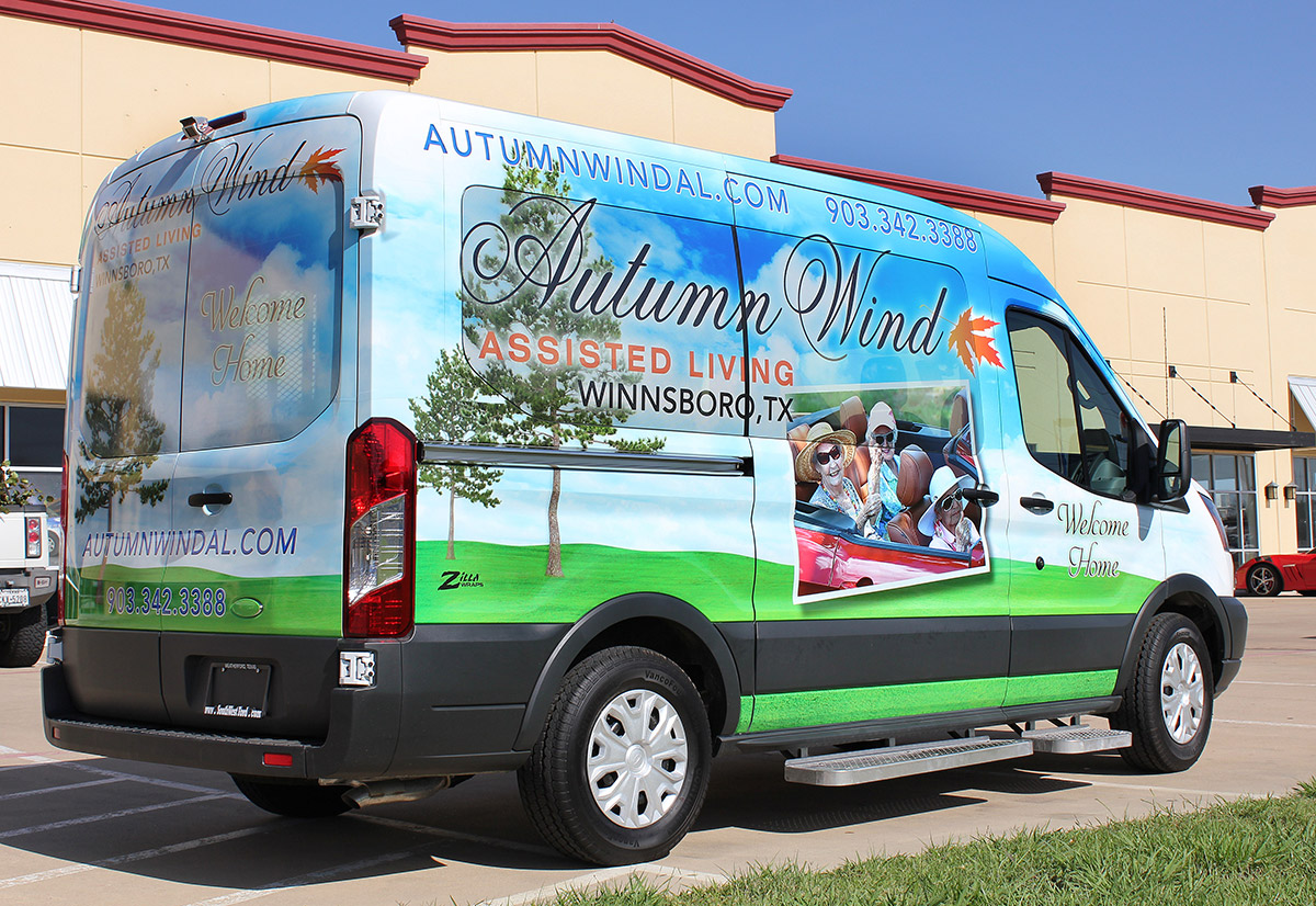 Dallas Assisted Living Wraps