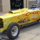 Zilla Wraps Flaming Race Car