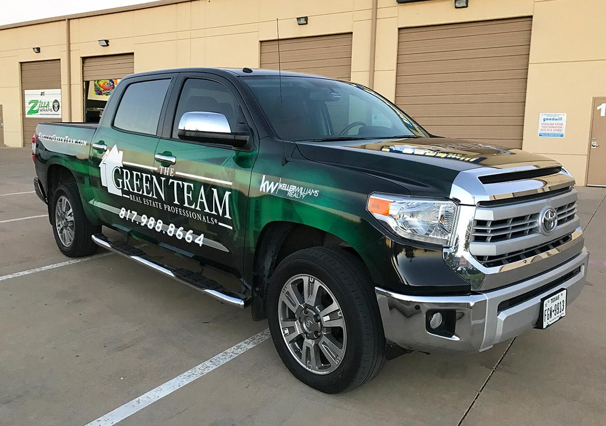 Keller Williams Truck Wraps