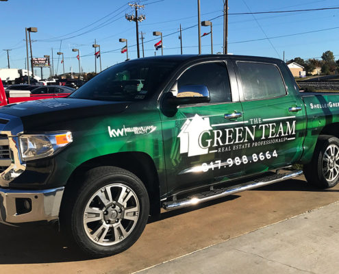 Real Estate Truck Wrap