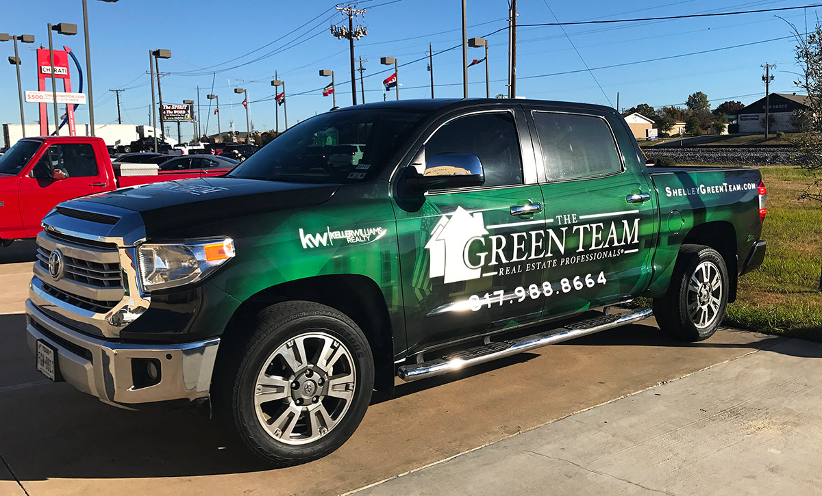 Fort Worth Toyota >> Real Estate Truck Wraps Fort Worth - Zilla Wraps